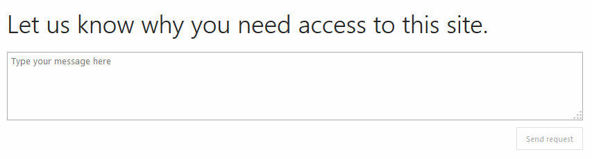 Access required